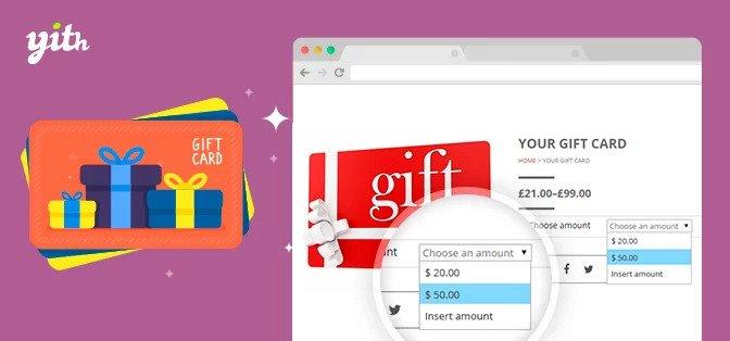 cartões de presente ou códigos de desconto WooCommerce
