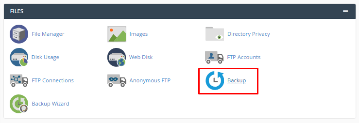 Backup manual do banco de dados do wordpress pelo cpanel